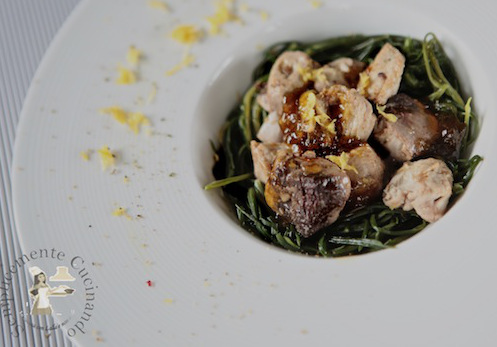 Tonno fresco in salsa agrodolce ricetta - Cucinare tonno fresco ...