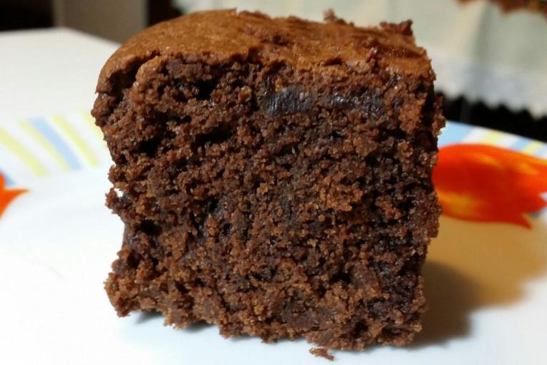 Torta americana al cioccolato fondente