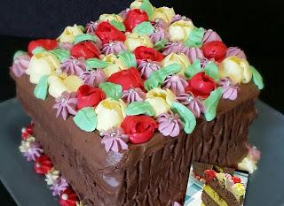 Torta fiorellosa