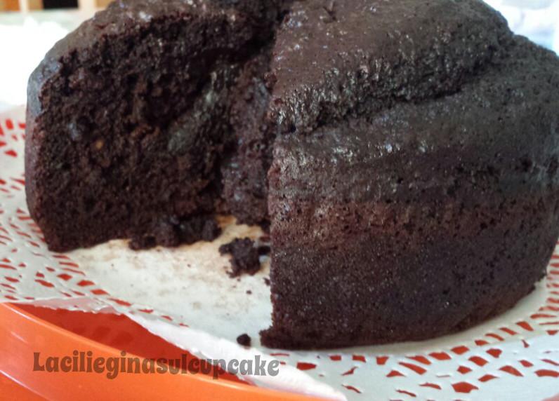 Torta Senza Uova Al Cioccolato.Torta Morbida Al Cacao Senza Uova