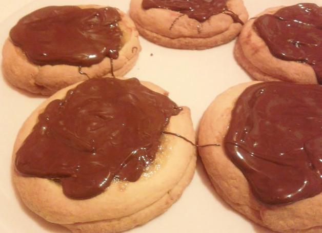 Tortini di fichi e cioccolato