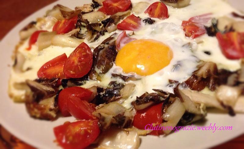 Uova con radicchio trevigiano ricetta for Cuocere v cucinare