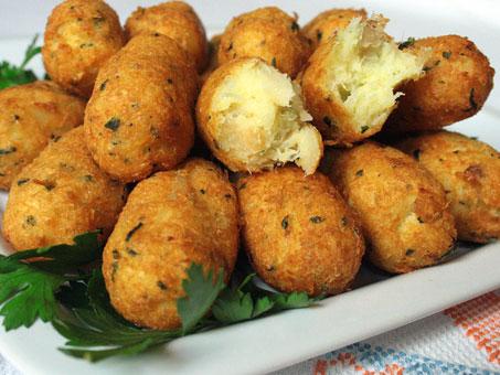 Crocchette di baccalà (ricetta portoghese-brasiliana)