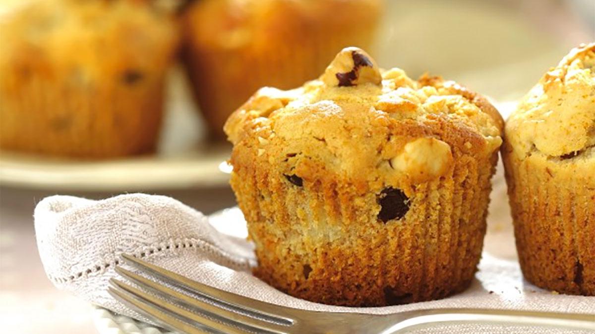 Muffin all'uvetta