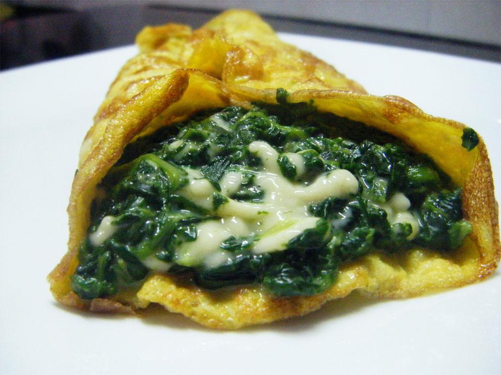 Ricetta Omelette Ricotta E Spinaci.Omelette Con Spinaci E Gorgonzola Ricetta