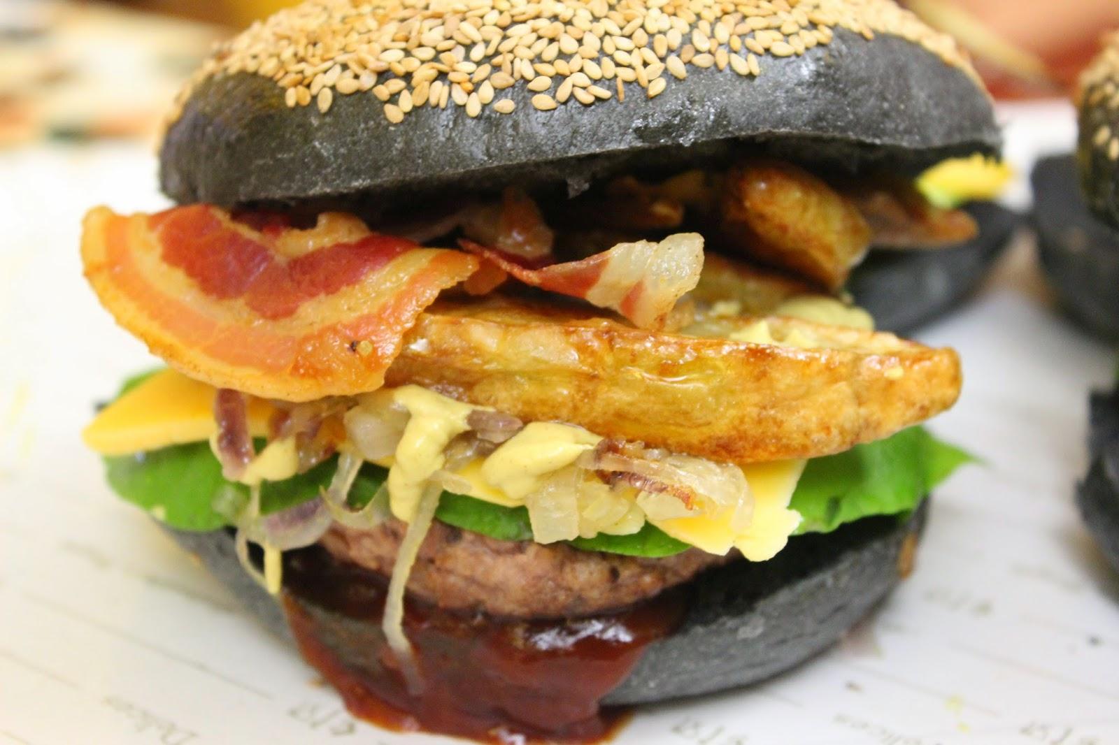 spesso Pane per hamburger con carbone vegetale, ricetta ID57