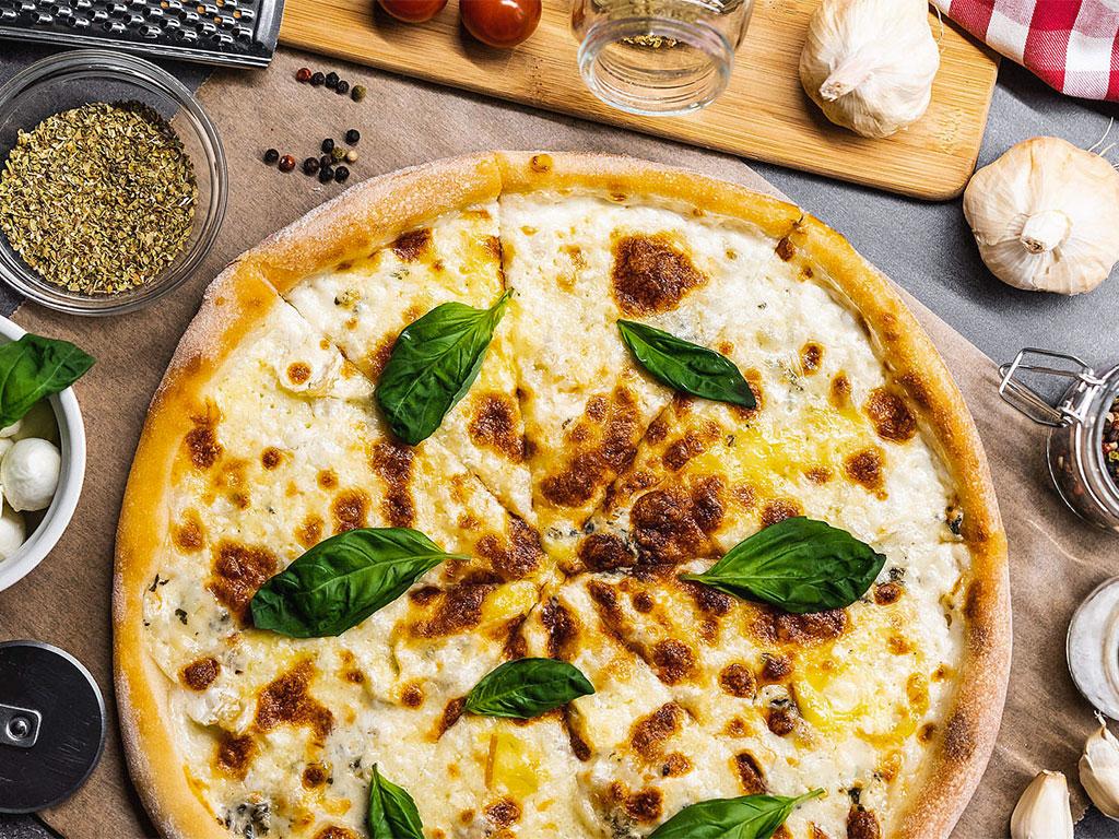 Pizze ai tre sapori